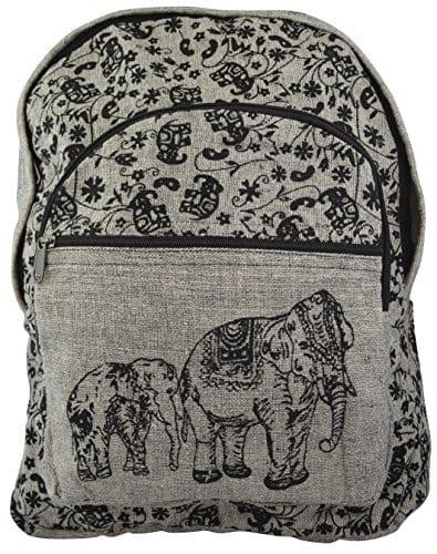 wholesale dealer ebc6d 87bee Kathmandu 100% Cotton Nepal Hippy Elephant Print Backpack Himalayas  Artisans Handmade