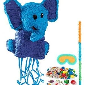 big blue elephant pinata