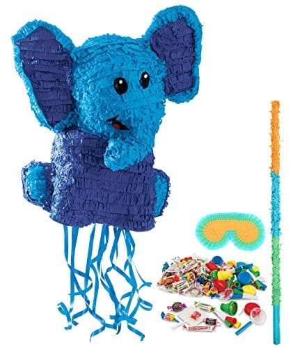 big blue elephant pinata