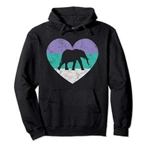 b8d9b47cee41 Clothes, Women's Hoodies and Sweaters. Elephant Gift Hoodie ...